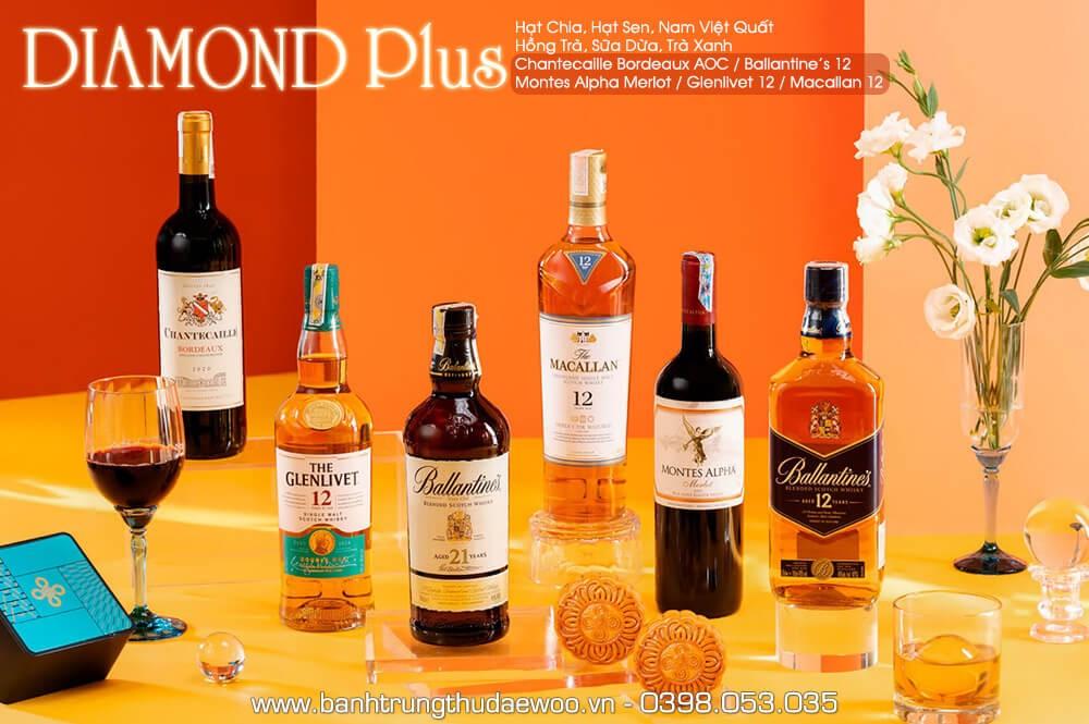 Bánh trung thu Khách sạn Daewoo Diamond Plus