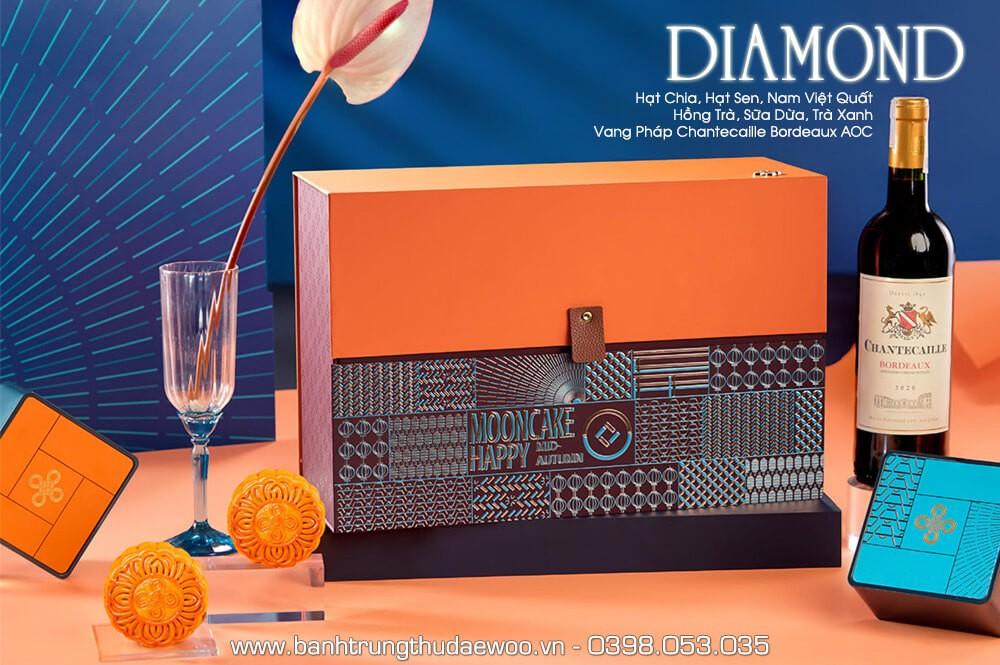 Bánh trung thu Khách sạn Daewoo Diamond