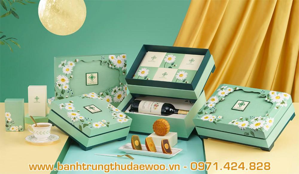 Giới thiệu Bánh trung thu Khách sạn Hà Nội Daewoo Hotel 2020